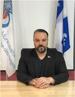 Dany Larrivée, directeur général et secrétaire-trésorier